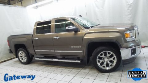 Pre-Owned 2015 GMC Sierra 1500 SLT 4WD 4D Crew Cab